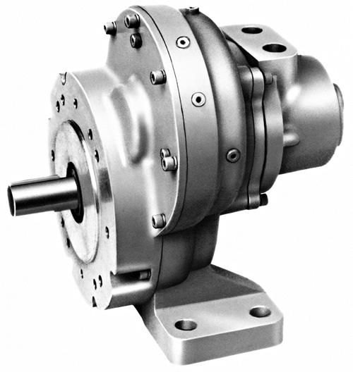Spur Gear Multi Vane Air Motors