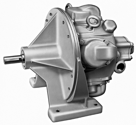Direct Gear Driven Piston Air Motors